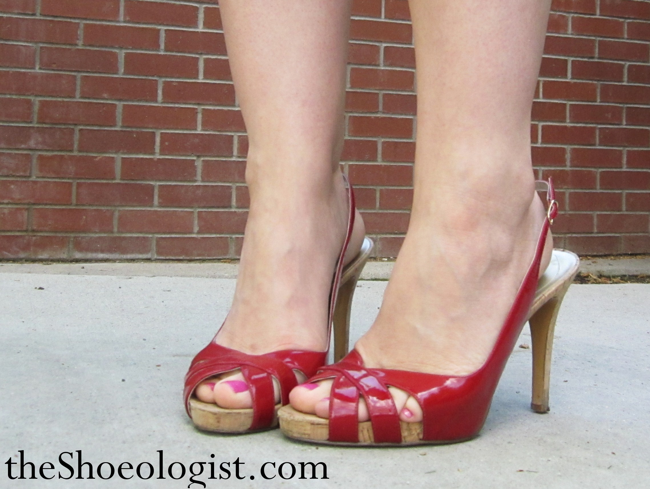 Peep Toe Study Of Shoes And Stilettos